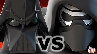 Han Solo vs Kylo Ren sarlacc pit arena fight Disney Infinity