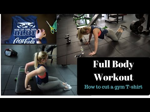 Full Body Workout | How to make a cut off shirt | Episode 3 Battle of The Bikini