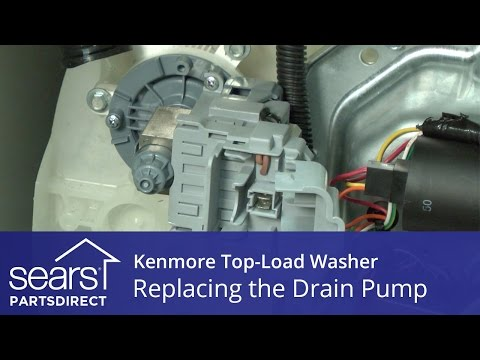 How to Replace the Drain Pump on a Kenmore Vertical Modular Washer (VMW)