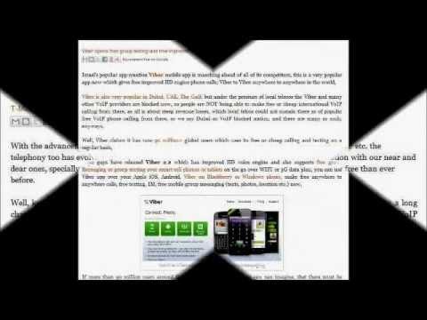 Viber VoIP app for Symbian, S40, Samsung Bada, Nokia Lumia, Blackberry, Windows Phone, iOS, Android
