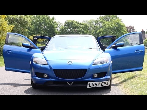 Mazda RX8 Review after a Rebuilt Rotary Engine - PerformanceCars