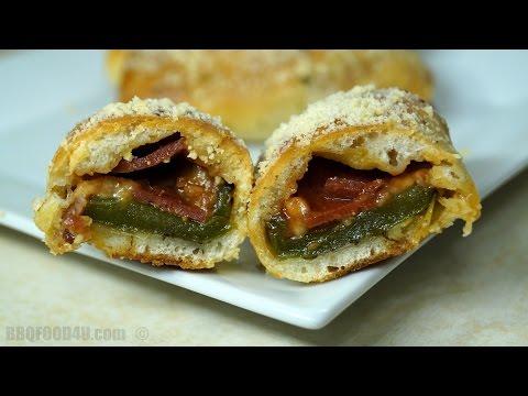 Jalapeno Pizza Popper Recipe - BBQFOOD4U