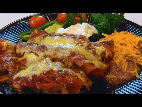 Betty's Shredded Beef Enchiladas