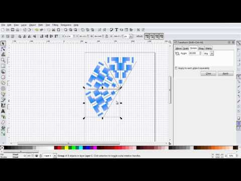 Snowflake in Inkscape