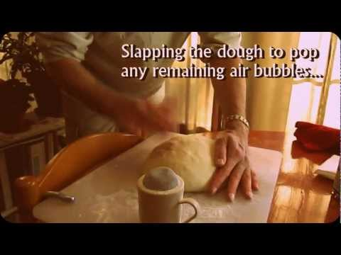 How To Make Italian Bread - Detailed steps for making Italian Bread Dough by Hand