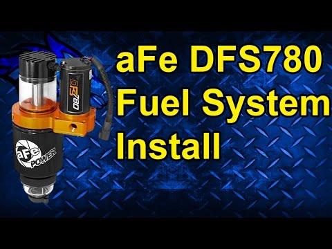 aFe DFS780 Fuel System Pump Install: 05-10 Dodge Cummins