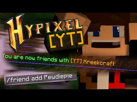 Hypixel: HOW TO GET ANY YT RANK TO FRIEND YOU!