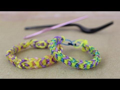NO LOOM Inverted Fishtail Bracelet Tutorial