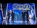 Opening Host Indonesian Choice Awards 50 NET
