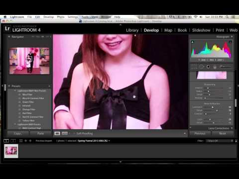 Grainy images with lightroom