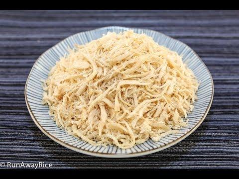 Dried Shredded Chicken (Cha Bong Ga, Ruoc Ga)