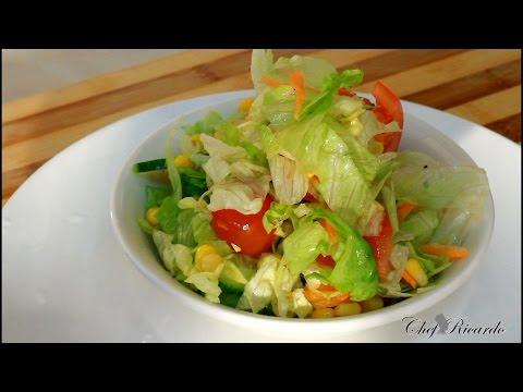 Jamaican Salad Recipe | Recipes By Chef Ricardo