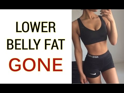 4 Lower Belly Fat Workout For Women | Exercises to Flatten your Lower Belly!
