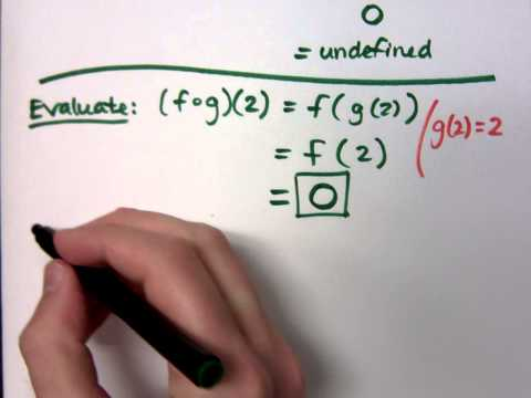 College Algebra - Part 107 (Function Operations and Composition)