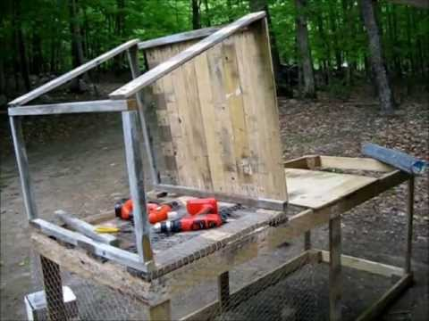 Making A Chicken Tractor Using Recycled Wood Pallets