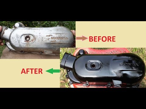 How To Paint Engine/Clutch Cover.