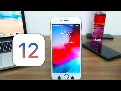 iPhone 6 Running iOS 12 Beta 1 Performance and Battery Life