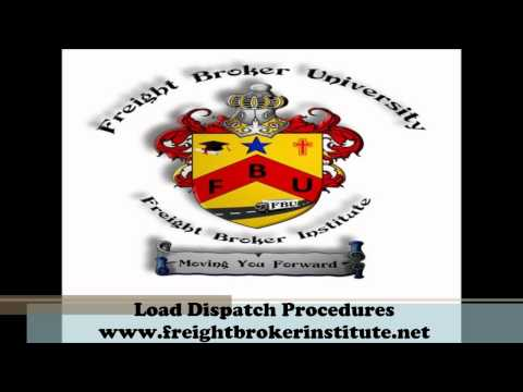 Understanding the Load Dispatch Procedures from our Freight Broker Training Manual