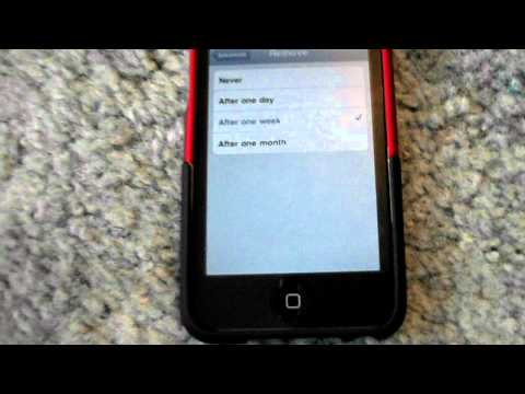 How to delete all your messages on your iPod or iPhone without jailbreaking!