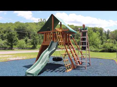 How to Measure a Swing Set Canopy