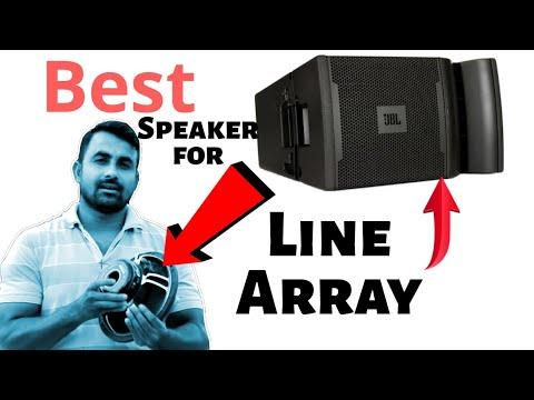 Best Speaker for Line Array # Tech & Techniques
