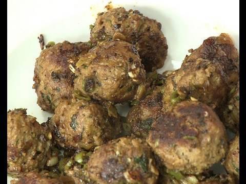 Garlic Pepper Meat Balls - By VahChef @ VahRehVah.com