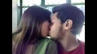 Bangladeshi Girl Kissing boyfriend in college (mediafire link to more bangladeshi scandal)