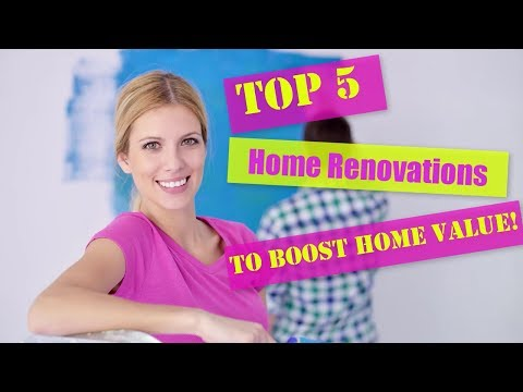 Top 5 Home Renovations to Boost Home Value!