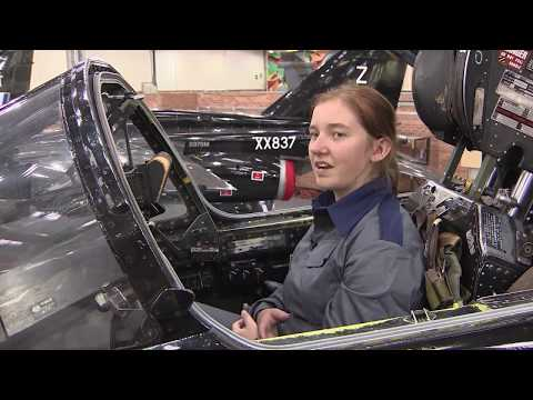 Teen Girls Experience The World Of Military Engineering