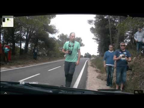 Onboard Kubica rally Catalunya-costa Daurada ss16 2015