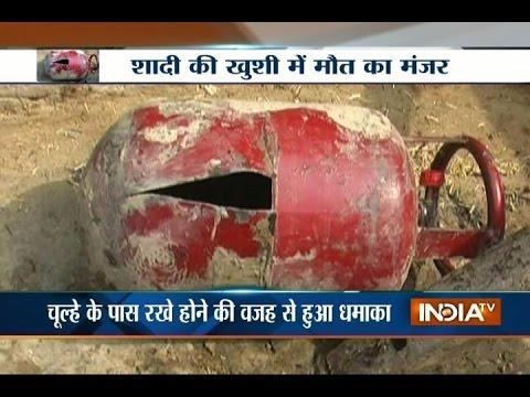 LPG Cylinder Blasts During a Wedding Function at Barabanki, 7 Dead