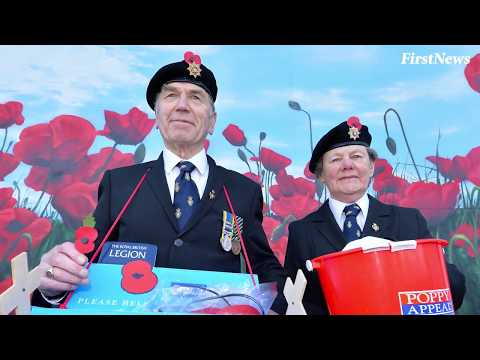 Why do people wear poppies in November?