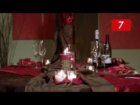 A Social Life - Quick Tip - Romantic Table Setting for Two