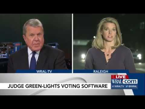 Judge won't block use of polling site software