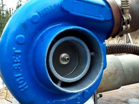 Intake, exhaust red hot turbo jet motor