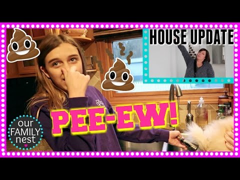SUPER STINKY SITUATION (GROSS!) & HOUSE LOOKS SO DIFFERENT!