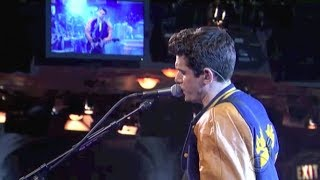 "John Mayer, ""American Pie"" on Late Show, April 17, 2015"