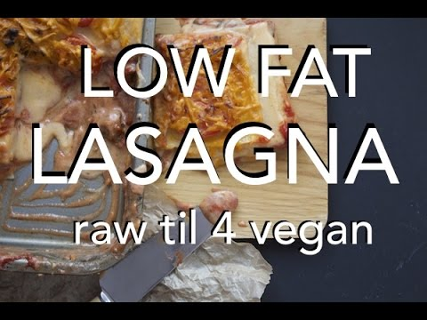HCLF VEGAN LASAGNA - gluten free, no oil & salt