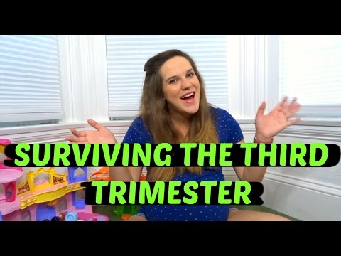 TIPS FOR SURVIVING THE THIRD TRIMESTER OF PREGNANCY
