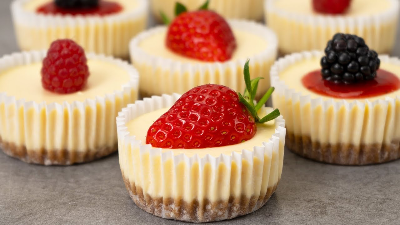 Easy Mini Cheesecakes Recipe