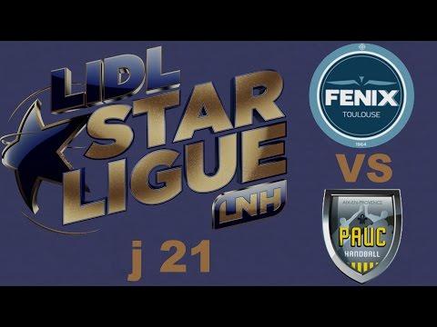 Toulouse VS Aix en Provence Handball LIDL STARLIGUE j21