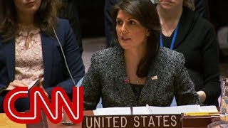 Nikki Haley: Russia responsible for UK poisoning