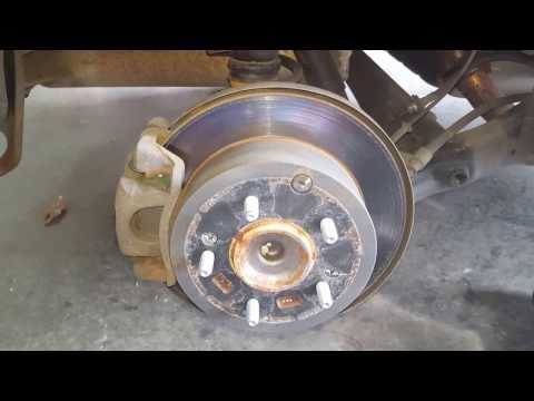 How to replace the rear brake pads on a kia soul