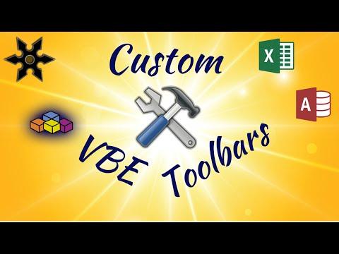 How to Create a Custom Visual Basic Editor Toolbar