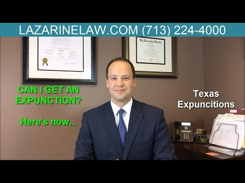 Expunction Texas | Houston Expungement Lawyer | Cost & Timeline