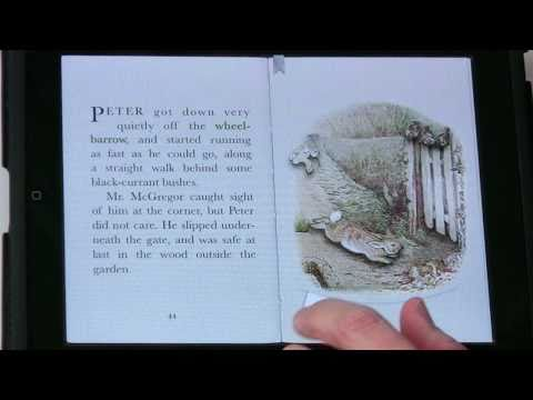 Exploring Interactive Books on iPad with PopOut! Peter Rabbit: Ep. 142