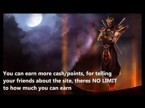 How To Get Free League Of Legends Skin Codes 2016