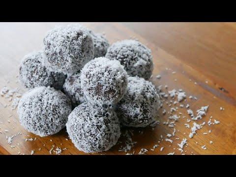 Easy Truffles recipe | Dark chocolate and coconut based recipe