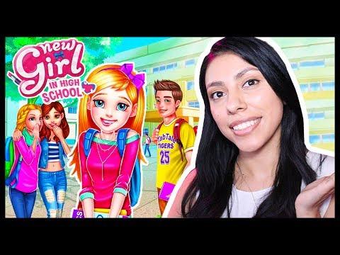 NEW GIRL IN HIGH SCHOOL - App Game