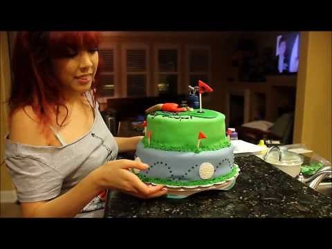Golf Cake Time Lapse